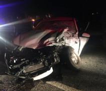 Elazığ'da minibüs ile otomobil çarpıştı:6 yaralı