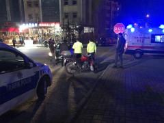 Elazığ'da otomobil ile motosiklet çarpıştı: 1 yaralı