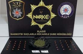 Elazığ'da uyuşturucu taciri 3 şüpheli tutuklandı