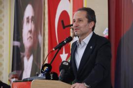 Fatih Erbakan Yeniden Refah Partisi kongresinde konuştu
