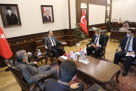 """Vali Erkaya Yırık,""""14 yeni iş alanı tesis edilecek,3 bin kişiye istihdam sağlayacak"""""""