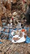 Tunceli'de teröristlerin kullandığı 8 sığınak imha edildi