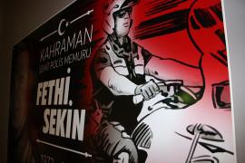 93 yıllık istasyon, şehit polis Fethi Sekin anısına müze oldu