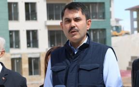 """Bakan Kurum: """"Kanal İstanbul, hiçbir şekilde İstanbul'umuzda depremi tetiklemeyecektir"""""""