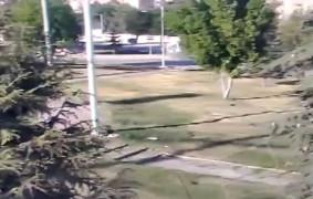 Elazığ'da 19 kişinin yaralandığı kaza güvenlik kamerasına yansıdı