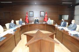 Elazığ Tekstil Endüstri Park Prestij Yatırım Merkezi toplantısı