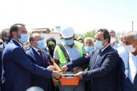 Elazığ'da temel atma ve şehitlik anıtı açılış programı