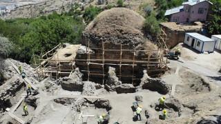 Harput'un turizmine katkı, çalışma başlatılan tarihi hamam müzeye dönüşecek