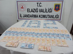 İstanbul'dan Elazığ'a 26 bin TL sahte para getiren şüpheli yakalandı