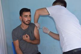 Bingöl'de aşı seferberliği başlatıldı