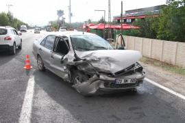 Elazığ'da zincirleme trafik kazası: 3 yaralı