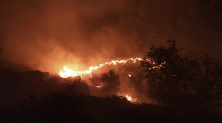 Elazığ'daki örtü yangını söndürüldü