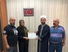 İslamiyet'ten etkilen Bulgaristanlı kadın, Müslüman oldu