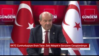 """KKTC Cumhurbaşkanı Tatar: """"Cumhurbaşkanı Recep Tayyip Erdoğan kararlılığını bir kez daha ortaya koymuştur"""""""