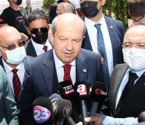 """KKTC Cumhurbaşkanı Tatar: """"Federal bir çatı altında Kıbrıs'ın tümünün Avrupa Birliğine alınması bir bakıma Türkiye ile bağlarımızın koparılmasıdır"""""""
