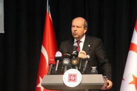 """KKTC Cumhurbaşkanı Tatar: """"Türkiye Kıbrıs'a 1974'te barışı getirdi, halen sürmektedir"""""""