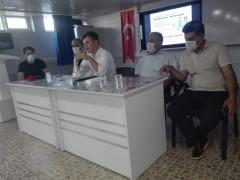 Kaymakam Karaloğlu başkanlığında Covid-19 toplantısı