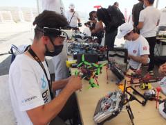 Türkiye Drone Şampiyonası finalinin ilk etabı Elazığ'da başladı