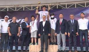 """""""Türkiye Drone Şampiyonası"""" finalinin ilk etabı tamamlandı"""
