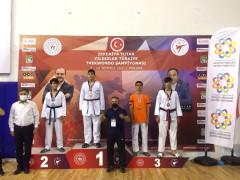 Türkiye Taekwondo Şampiyonasında Elazığlı sporcu 3'üncü oldu