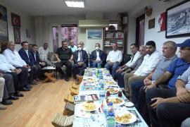 ETSO Başkanı Asilhan Arslan, Antalya'da Elazığlı vatandaşlarla bir araya geldi