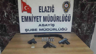 Elazığ'daki şok uygulamada aranan 100 kişi yakalandı