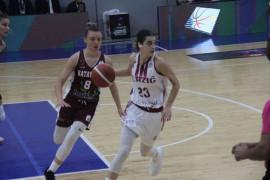 Kadınlar Basketbol Süper Ligi: Elazığ İl Özel İdare: 61 – Hatayspor: 103